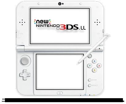 New ニンテンドー3DS LL™(パールホワイト)